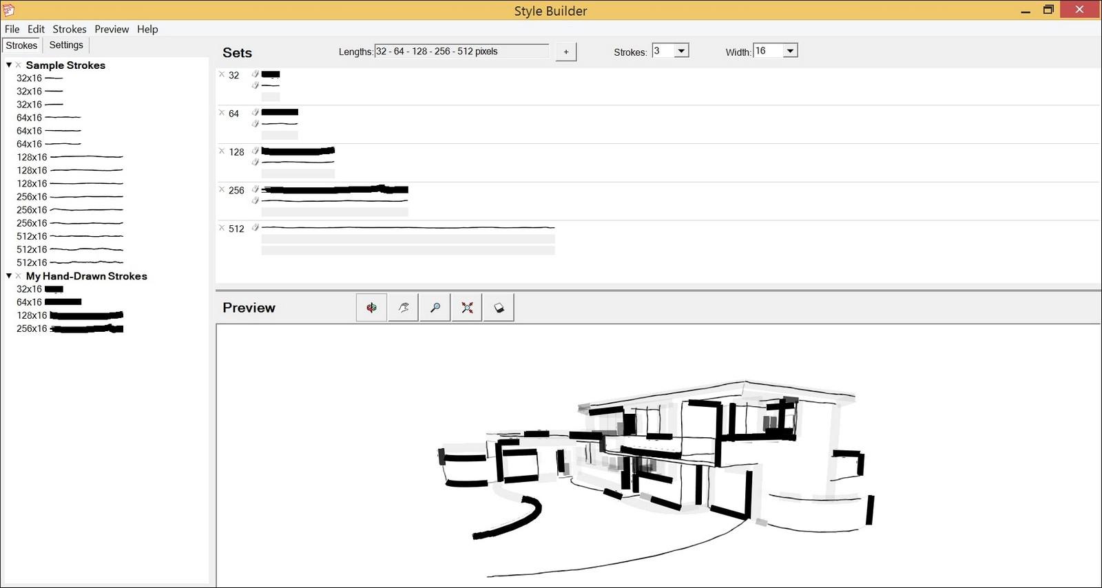 Creating sketch alike impression via Style Builder - Sheet1
