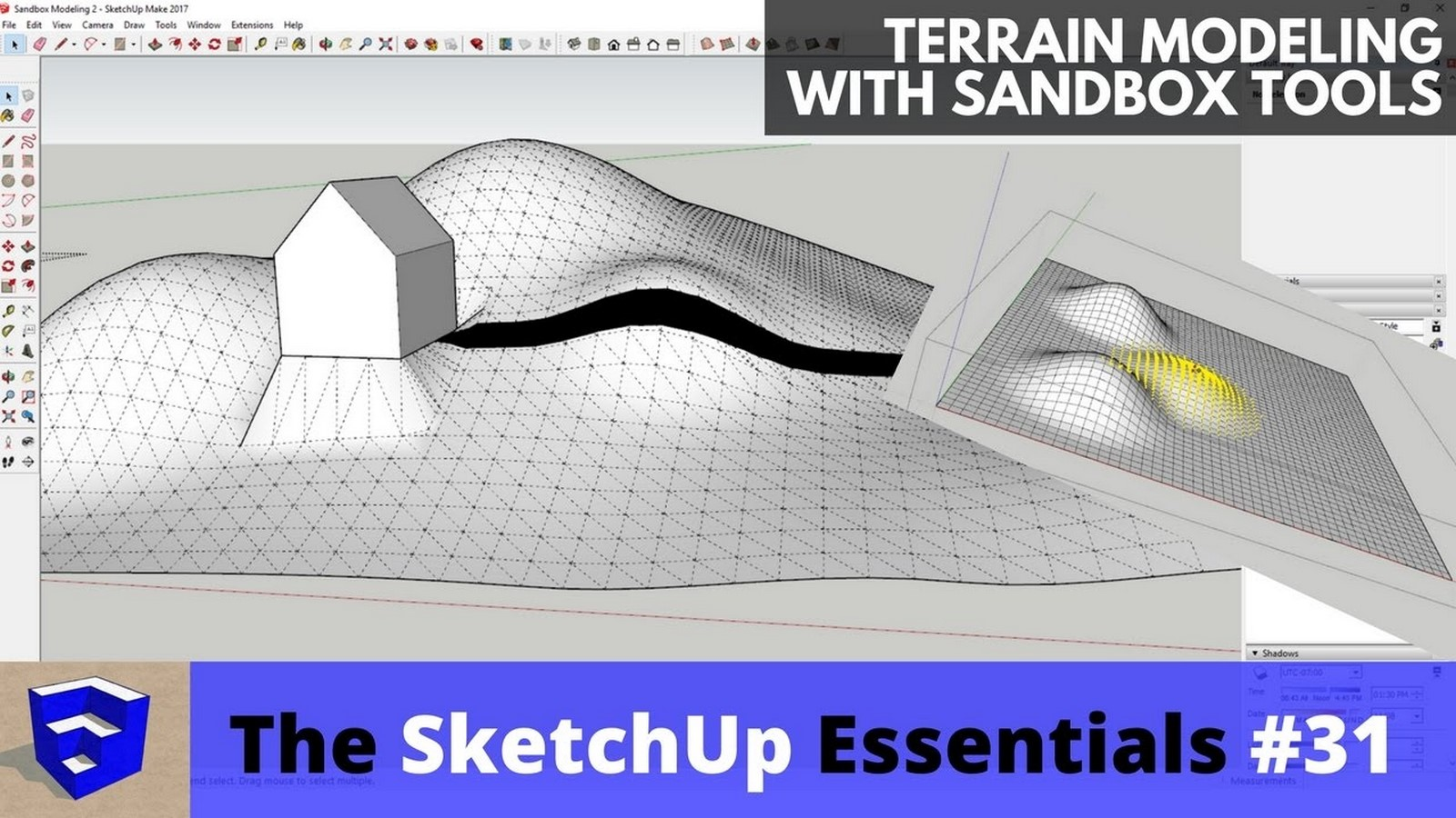 Modelling Terrain and Contours - Sheet1