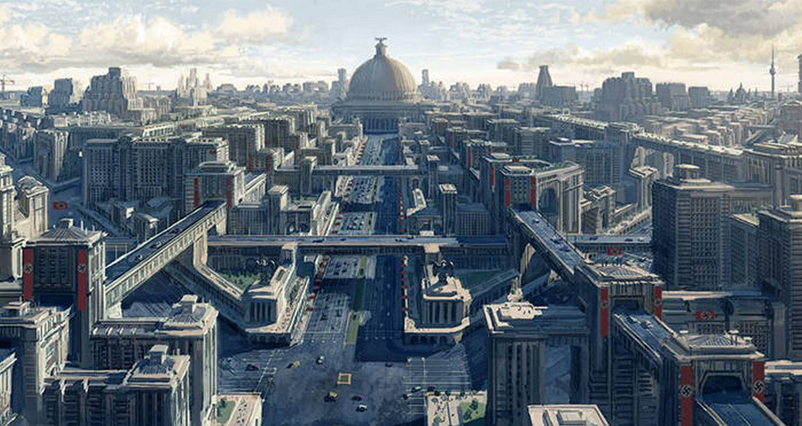 Germania- Hitler's architectural vision for a capital of the world - Sheet1