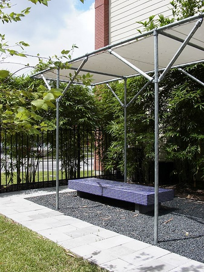 SHADE STRUCTURE AND PLANTING - Sheet2