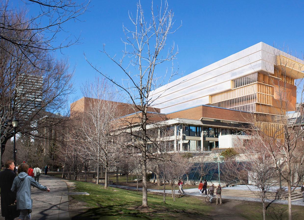 90 Queen's Park for University of Toronto by Diller Scofidio + Renfro's- 9-Storey Golden Sculpted Slab - Sheet9