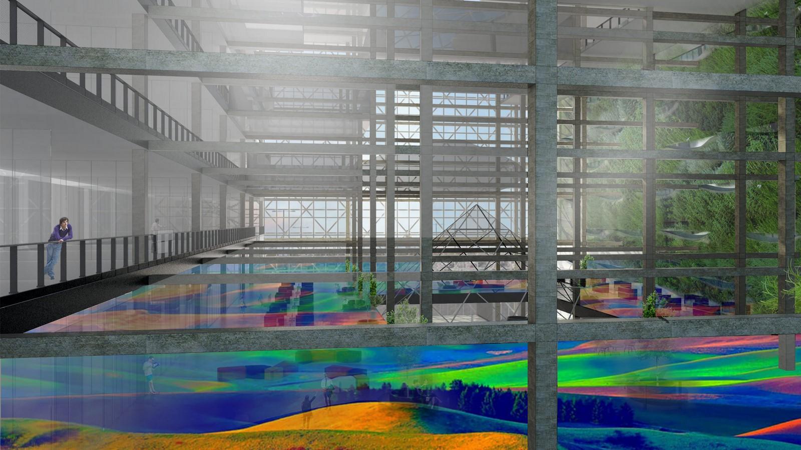 London's Ravensbourne University by Desitecture Edudrome- Anodized Aluminium Tiles Cladding - Sheet3