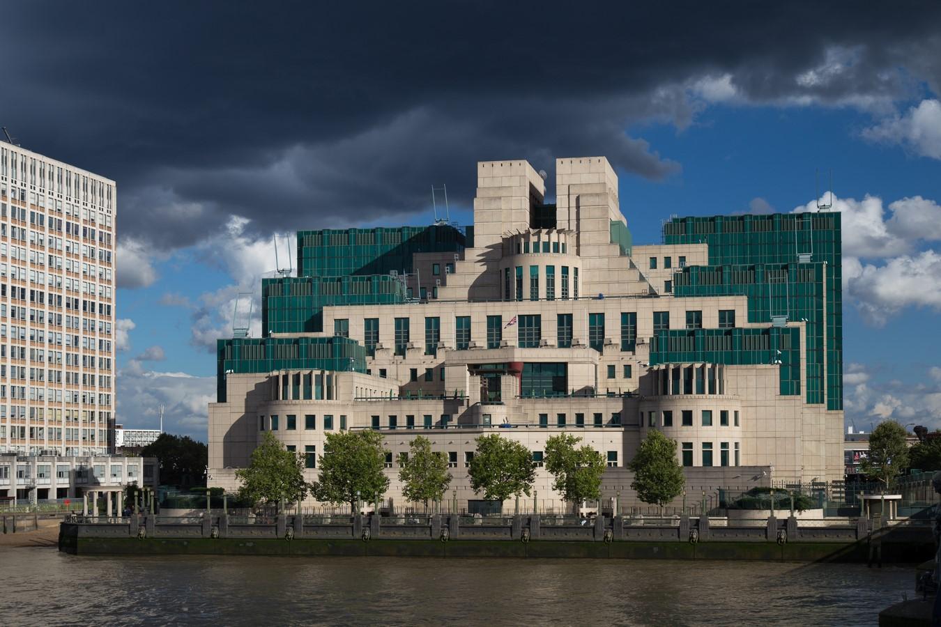 MI6 building, London, UK - SHeet1