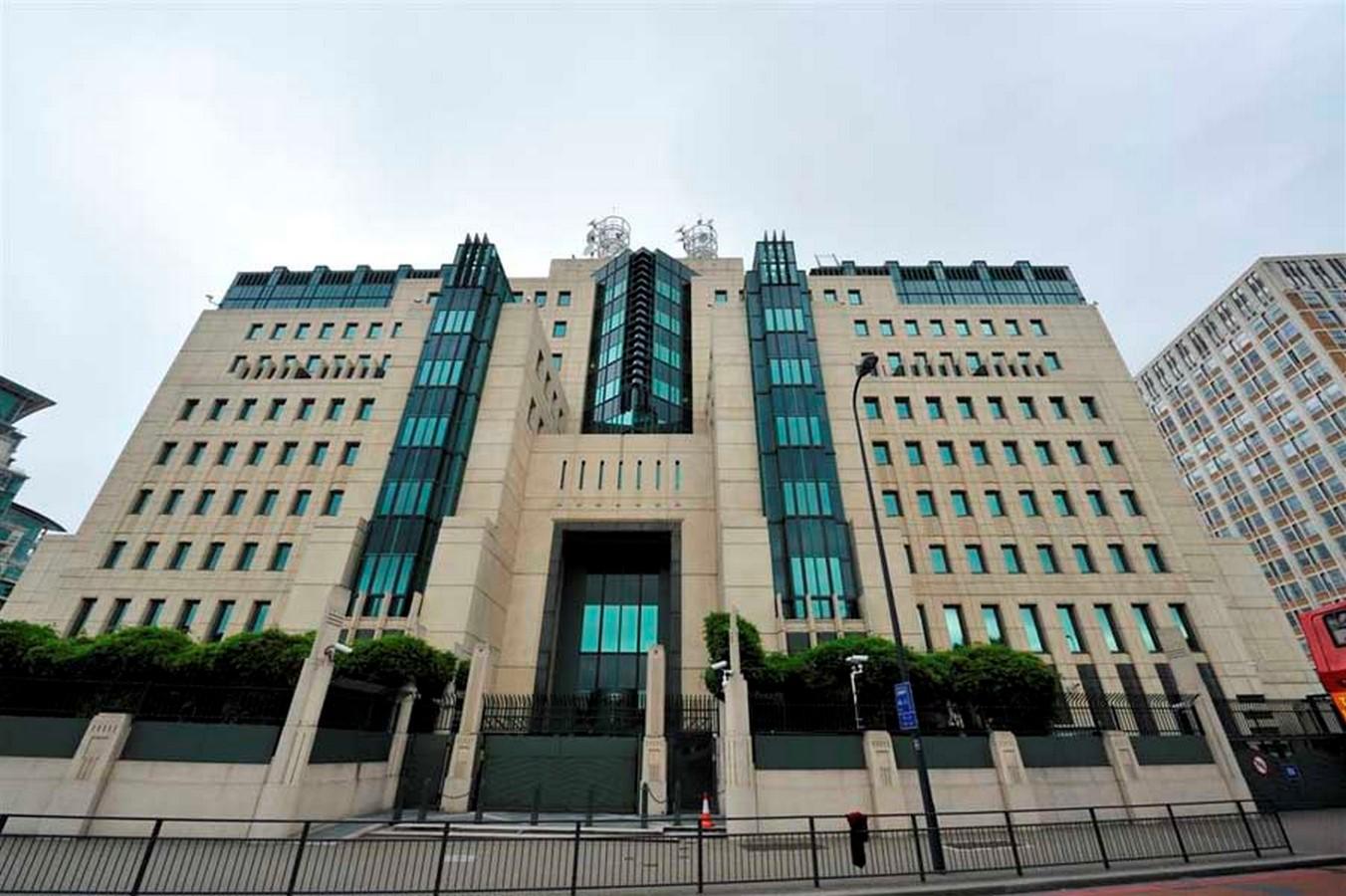 MI6 building, London, UK - SHeet2