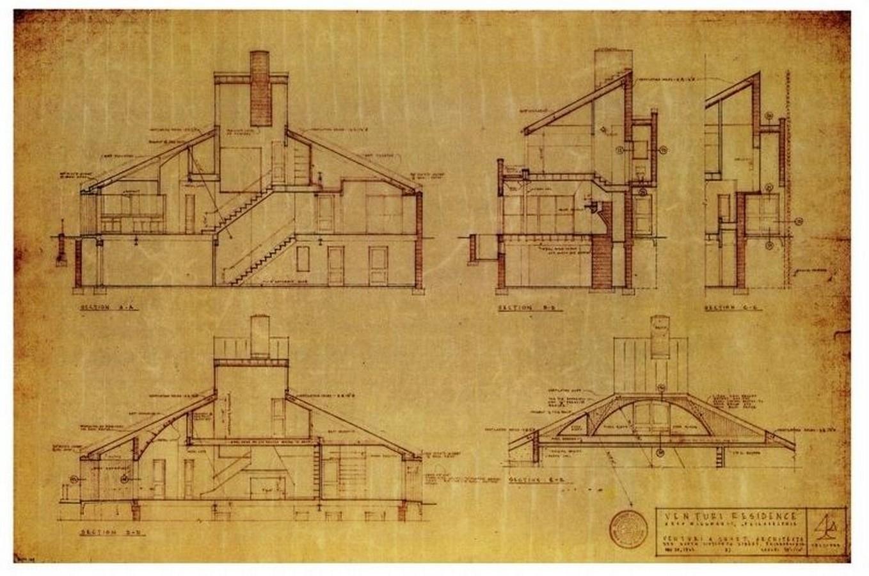 Vanna Venturi House, Pennsylvania, USA - SHeet3
