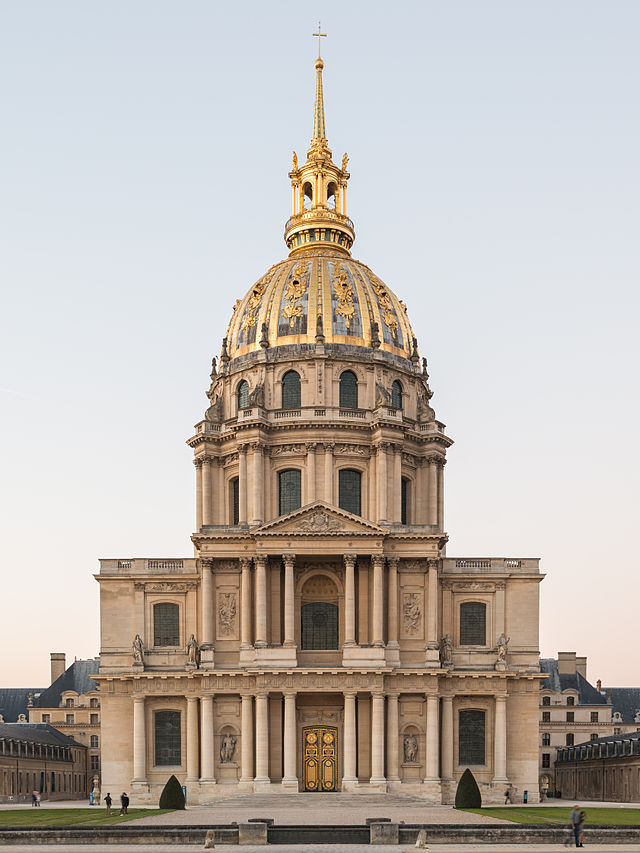 Chapel of Les Invalides, by Liberal Bruant and Jules Hardouin-Mansart - Sheet3