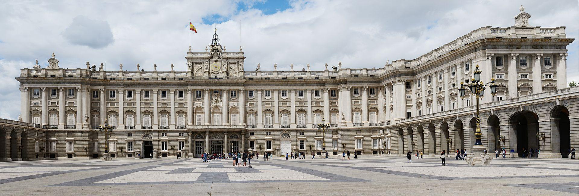 Royal Palace of Madrid - Sheet2