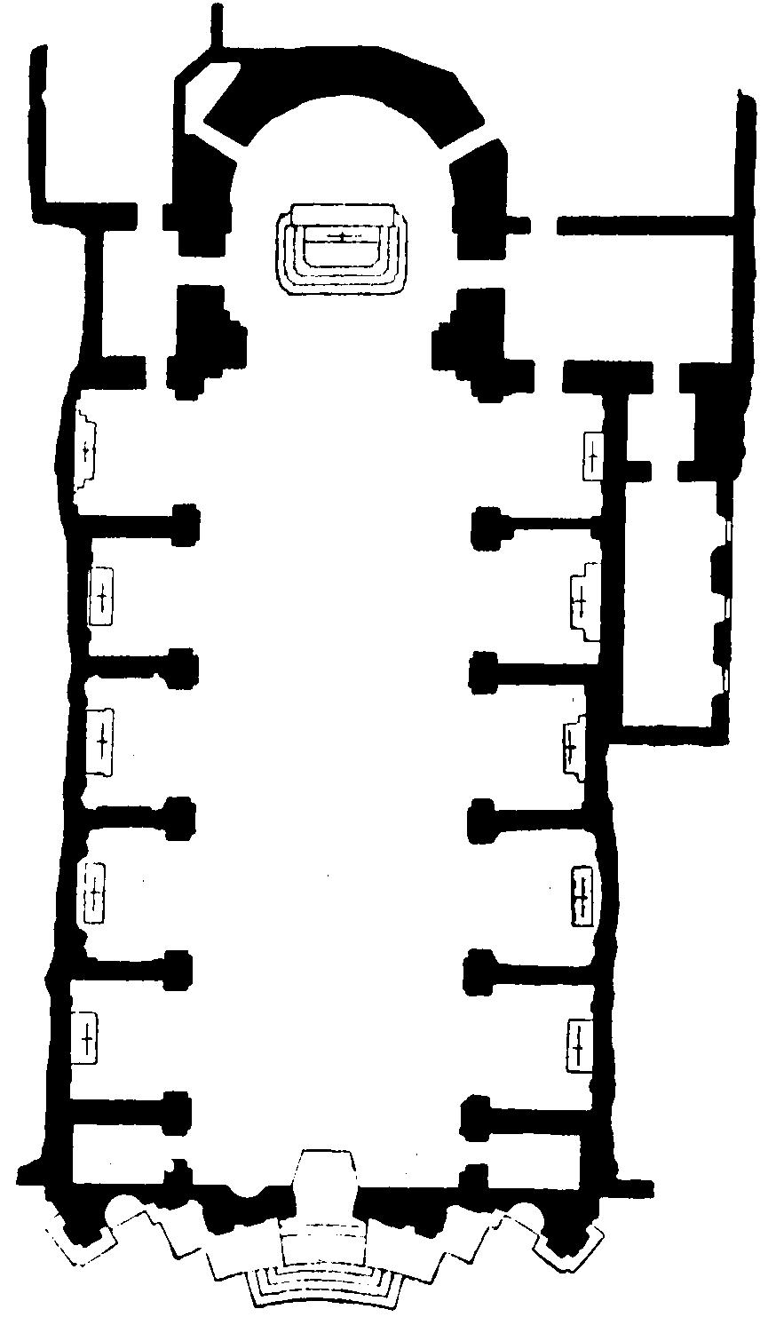 San Marcello al Corso by Carlo Fontana - Sheet1