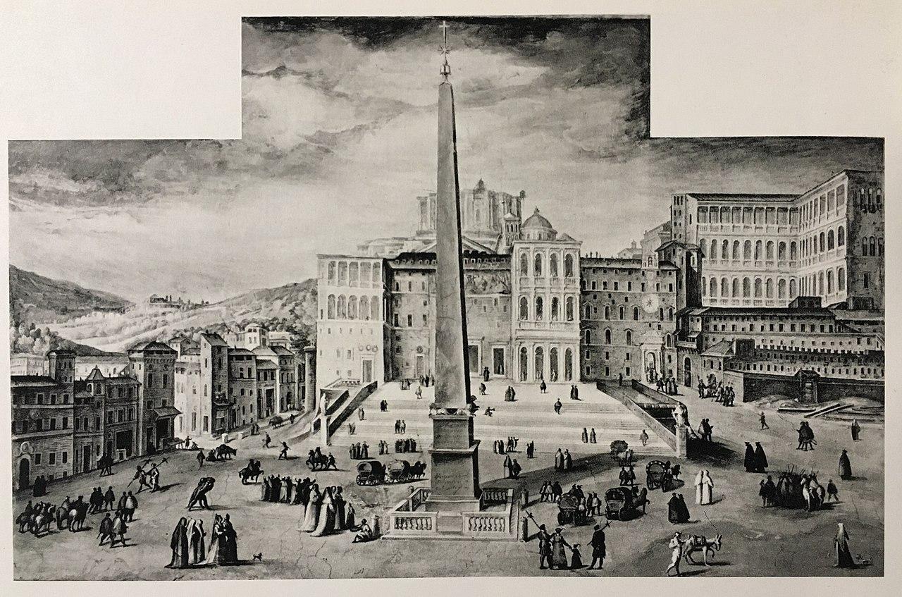St. Peter's Square, Gian Lorenzo Bernini - Sheet1