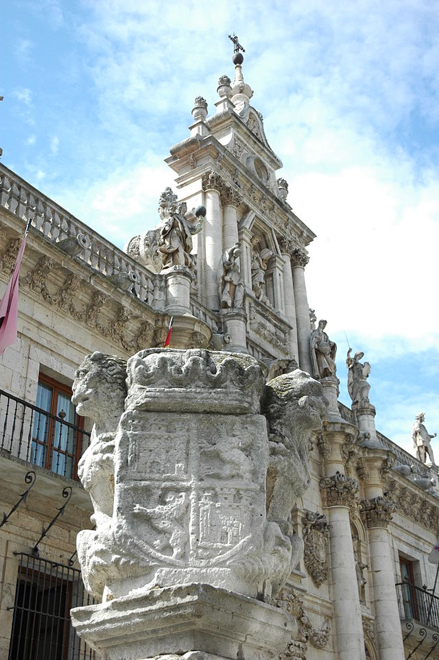 Façade of the University of Valladolid - Sheet1