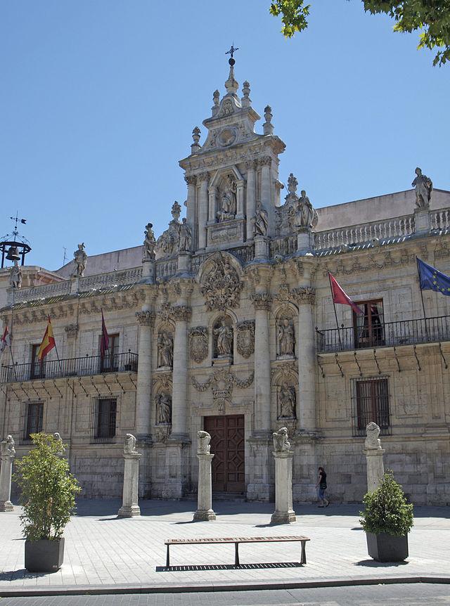 Façade of the University of Valladolid - Sheet2