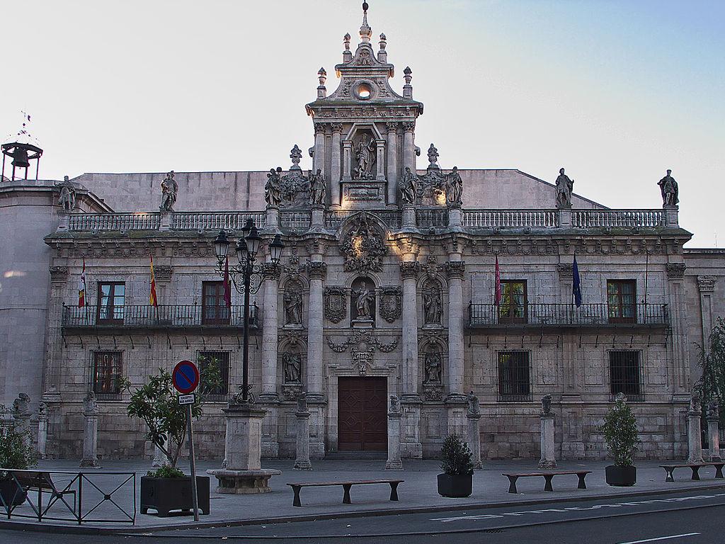 Façade of the University of Valladolid - Sheet3