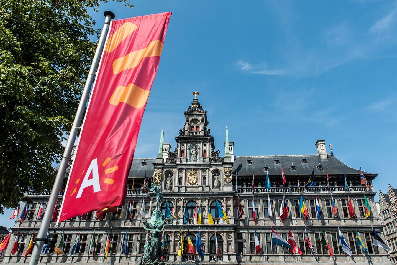 Antwerp City Hall, Antwerp (c.1561) - Sheet1