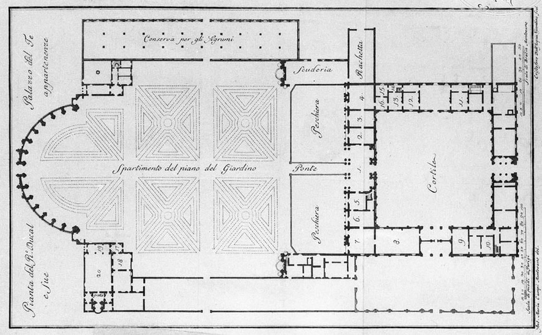 Palazzo del Te, Mantua (c.1525–35) - Sheet1
