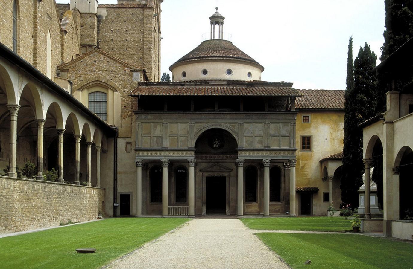 Pazzi Chapel, Florence (c.1442-43) -= Sheet1