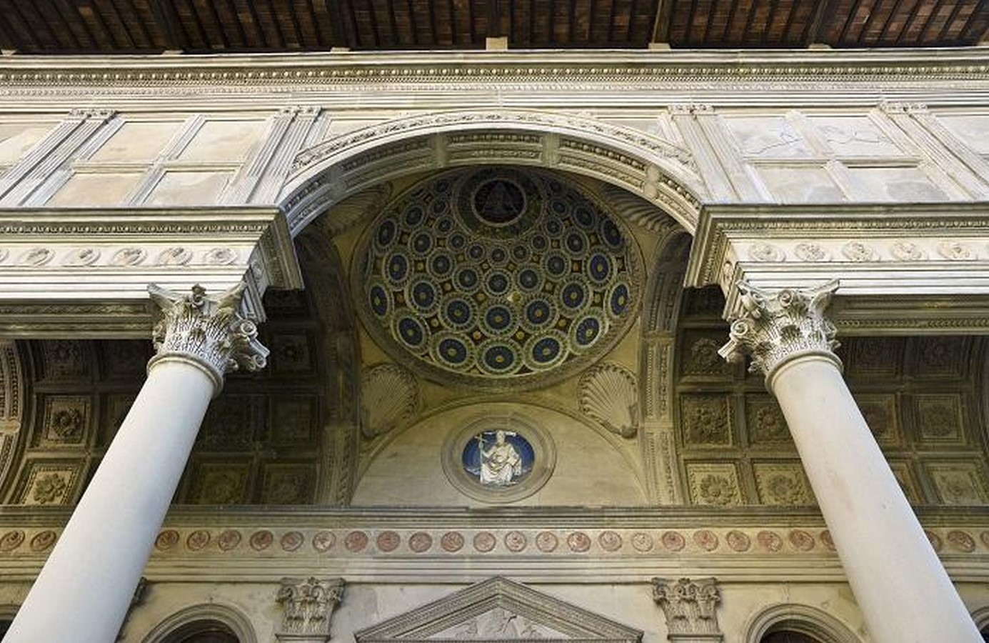 Pazzi Chapel, Florence (c.1442-43) -= Sheet2