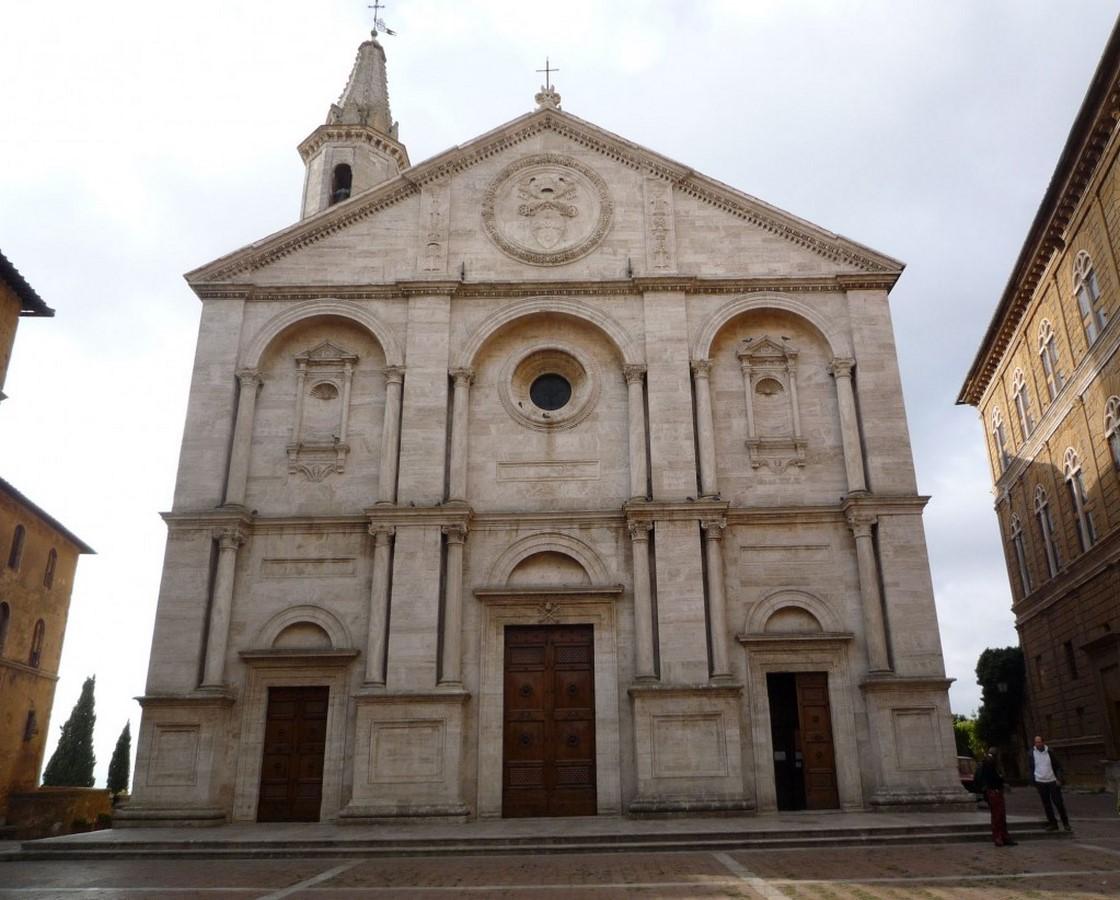 Pienza Cathedral, Pienza (c.1459-62) - Sheet1