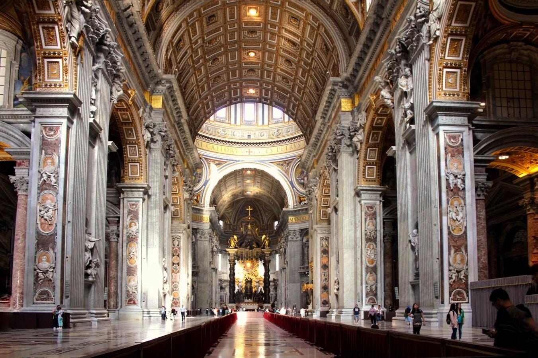 St. Peter's Basilica, Vatican City (c.1506) - Sheet2