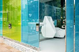 Transparent to Opaque Toilets designed by Shigeru Ban is the new highlights of Tokyo - Sheet3