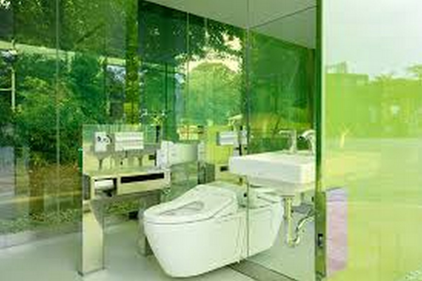 Transparent to Opaque Toilets designed by Shigeru Ban is the new highlights of Tokyo - Sheet6
