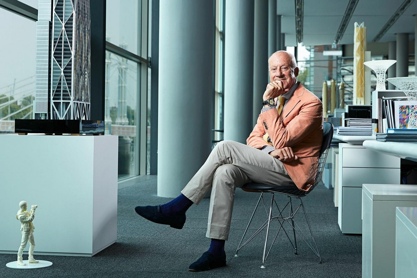 10 Things you did not know about Norman Foster - Sheet14