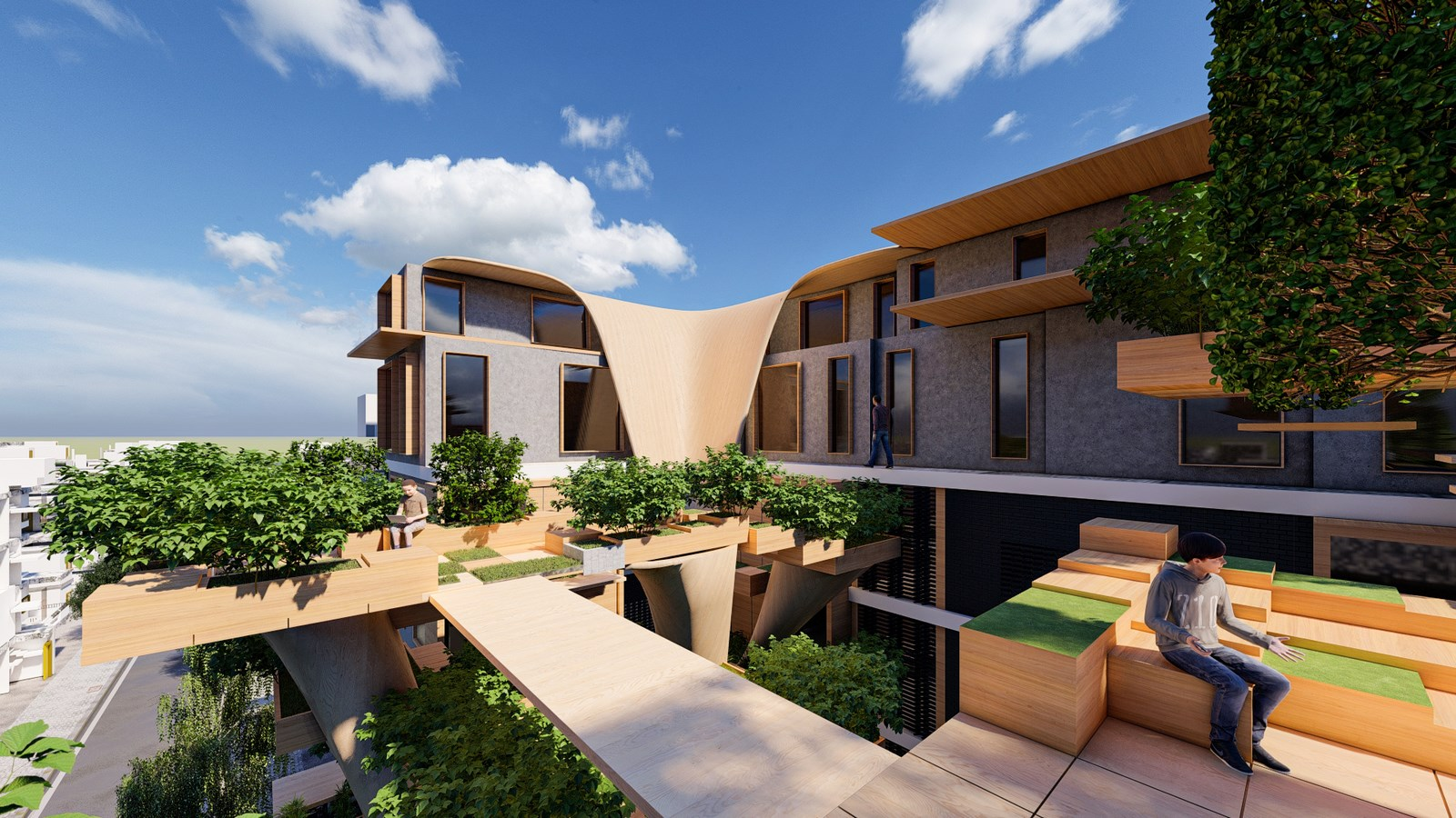 Re-Coding Smart Building in Damascus, Syria by Reparametrize Studio