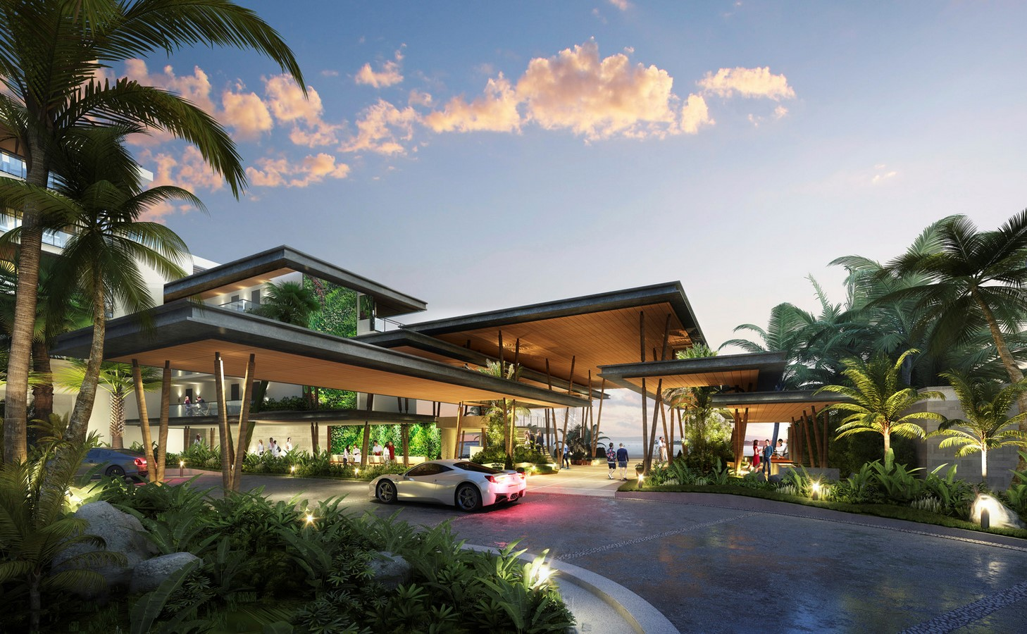 Confidential Caribbean Resort Development - Sheet2