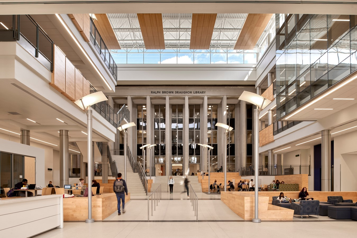 Auburn University - Mell Classroom Building © Rbd Library - Sheet4