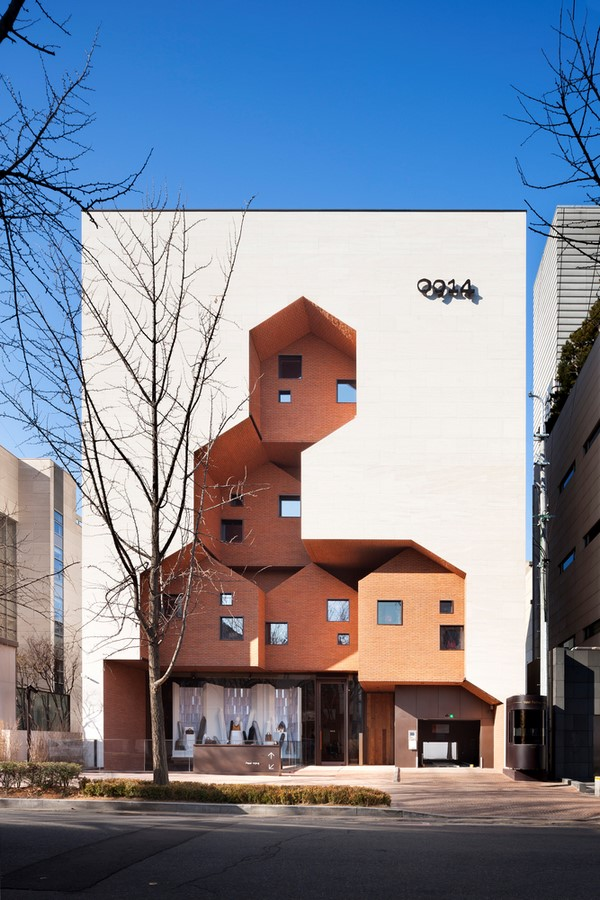 '0914' Flagship Store designed by TRU Architects reflects a co-working village in Seoul - Sheet1
