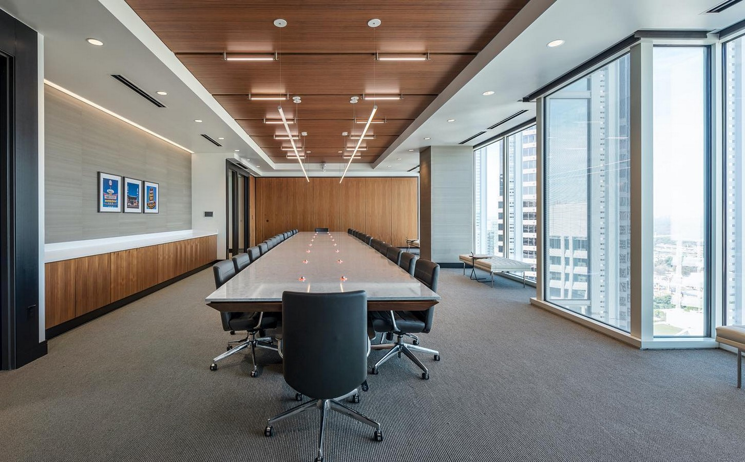 Roark Capital Group Corporate Office Renovation at Atlanta, Georgia - Sheet2