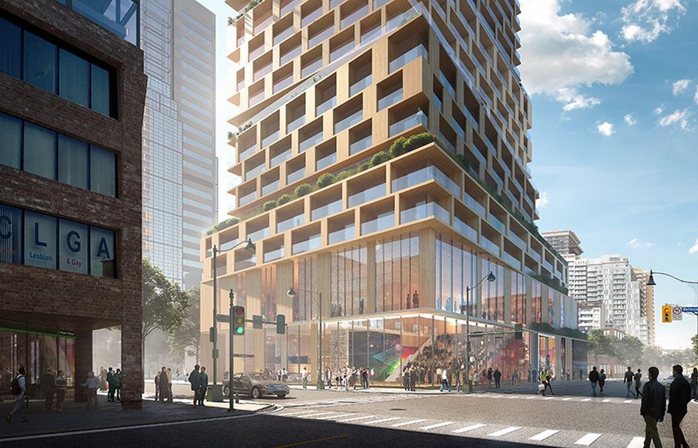 Church + Wellesley by 3XN- The staggered high-rise, Toronto, Canada - Sheet2