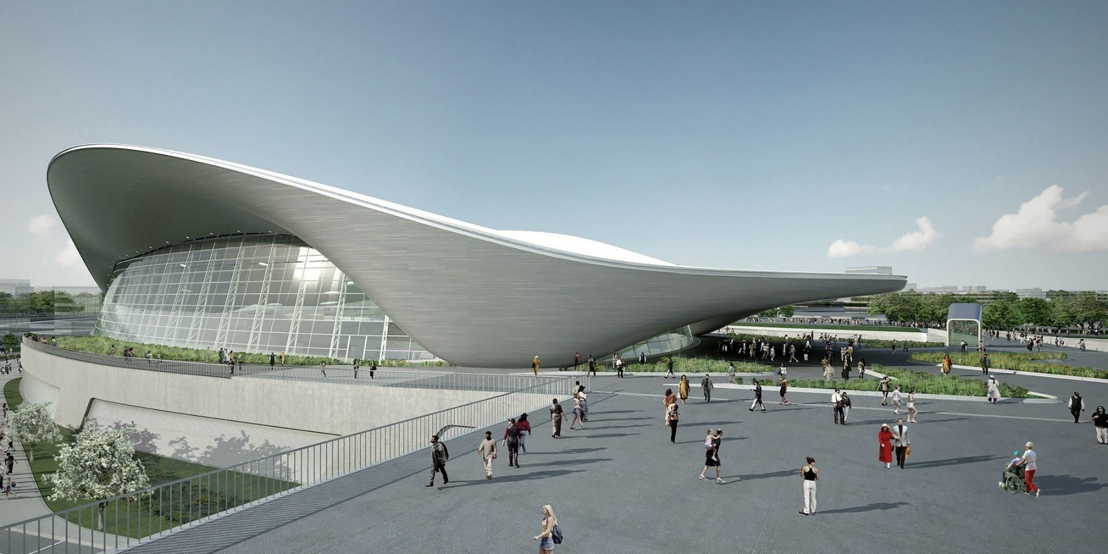London Aquatics Centre by Zaha Hadid Architects- Architecture inspired by water - Sheet2