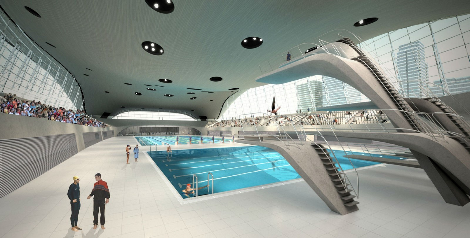 London Aquatics Centre by Zaha Hadid Architects- Architecture inspired by water - Sheet3