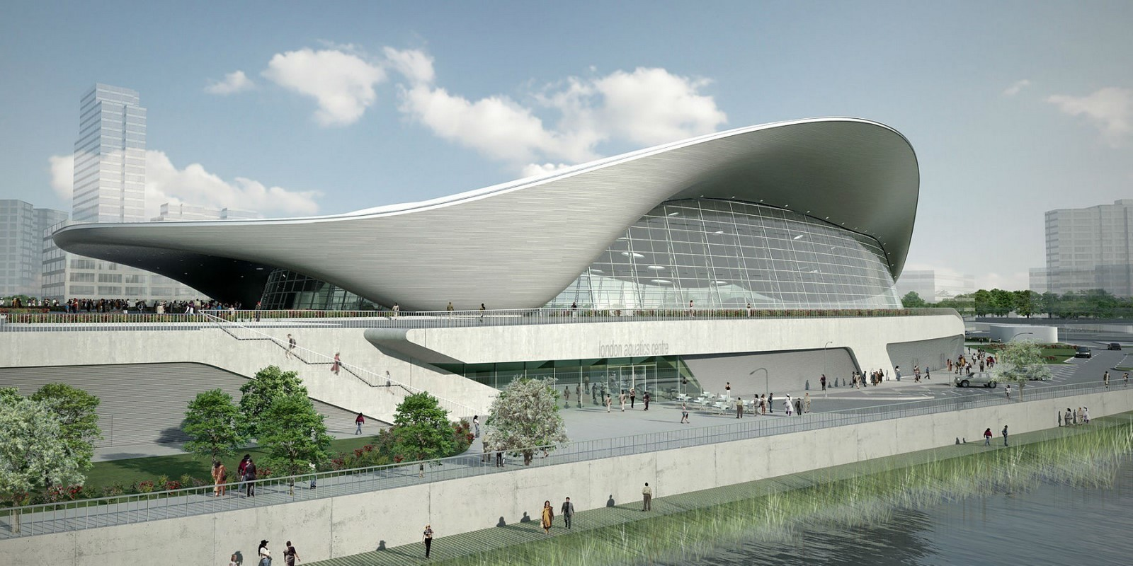 London Aquatics Centre by Zaha Hadid Architects- Architecture inspired by water - Sheet4