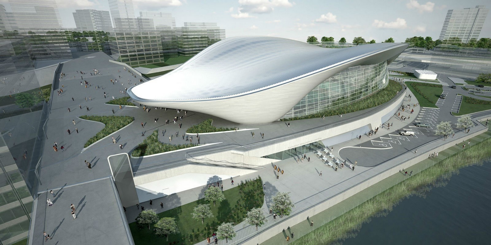 London Aquatics Centre by Zaha Hadid Architects- Architecture inspired by water - Sheet5