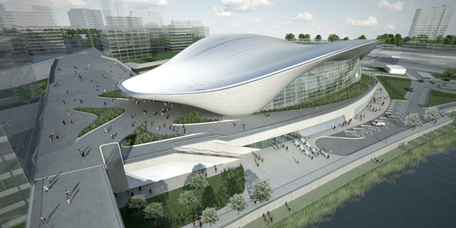 London Aquatics Centre by Zaha Hadid Architects- Architecture inspired by water - Sheet8