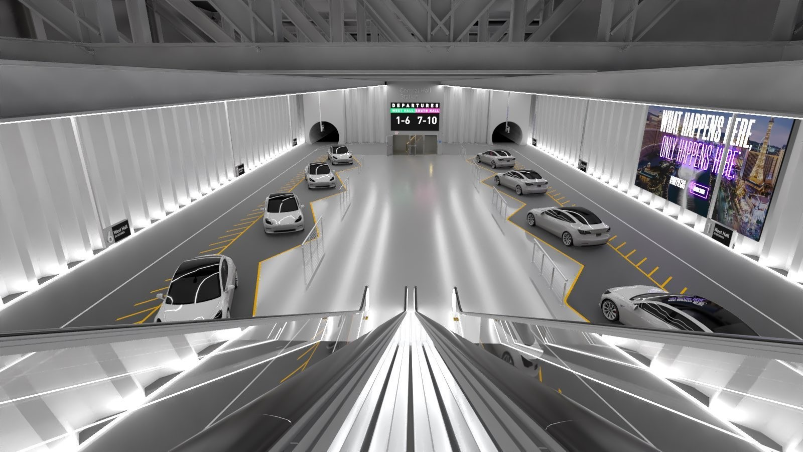 The People Mover- Las Vegas Convention Center Loop station, and its private shuttles revealed by Elon Musk - Sheet1