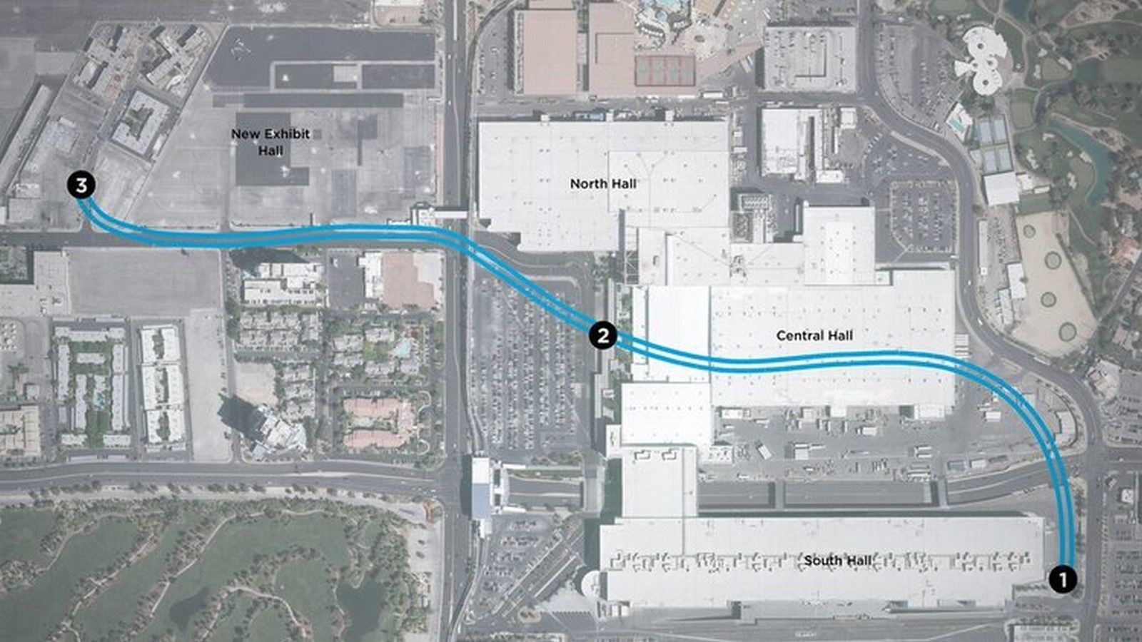 The People Mover- Las Vegas Convention Center Loop station, and its private shuttles revealed by Elon Musk - Sheet2