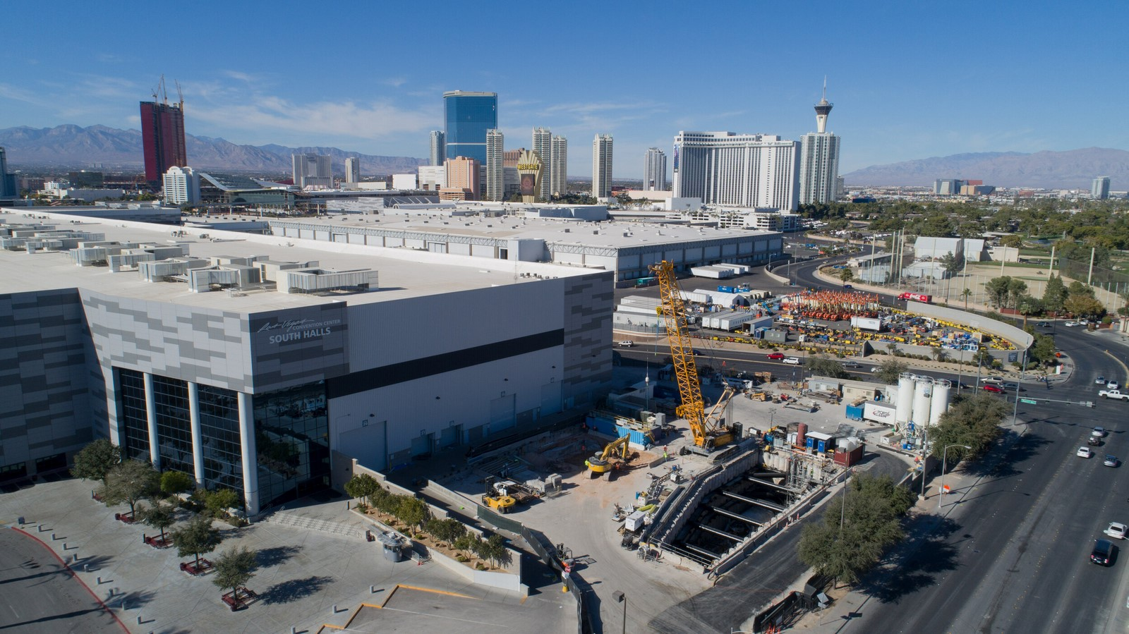 The People Mover- Las Vegas Convention Center Loop station, and its private shuttles revealed by Elon Musk - Sheet4