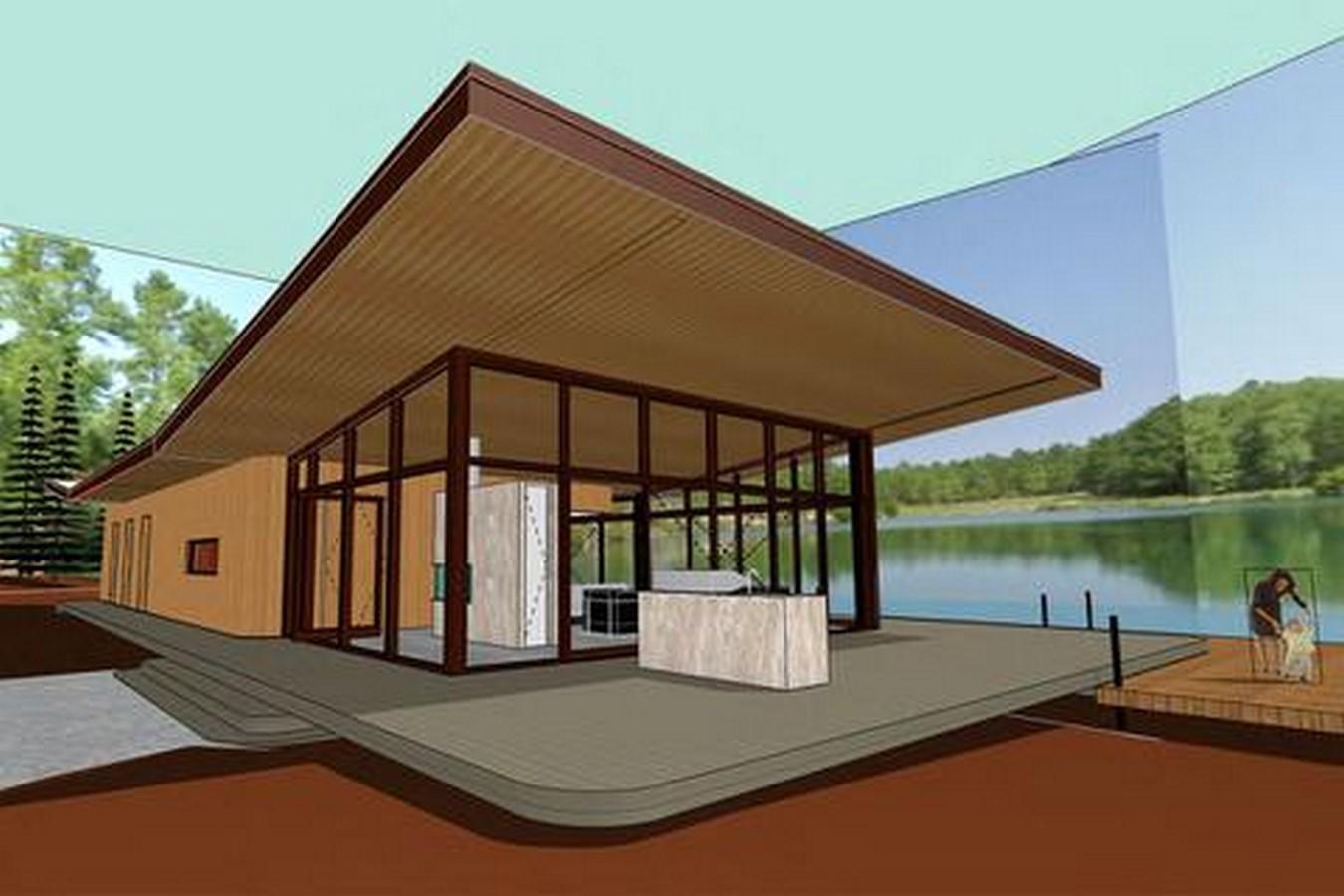 Riverside Lake House - Sheet2