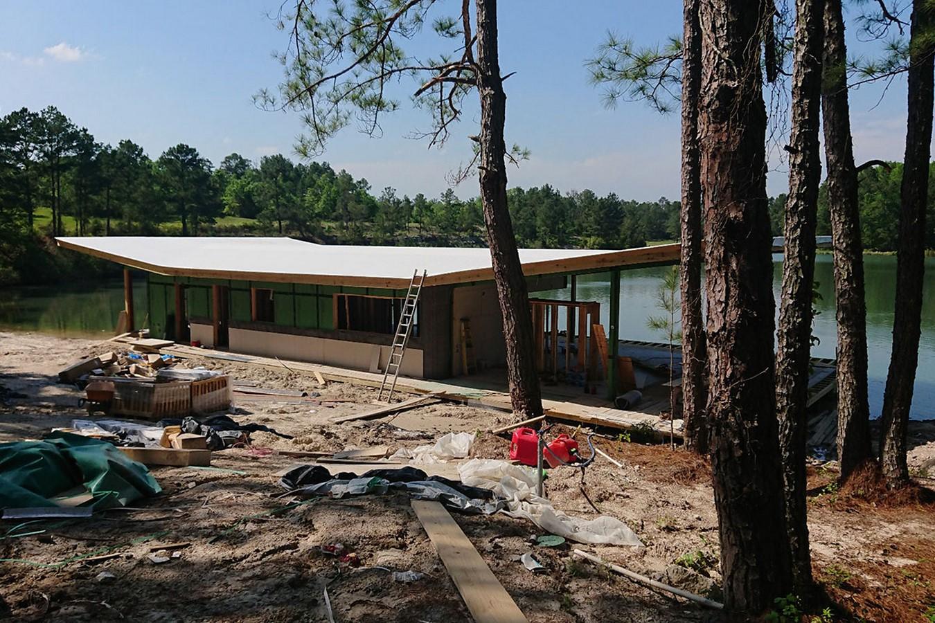 Riverside Lake House - Sheet3