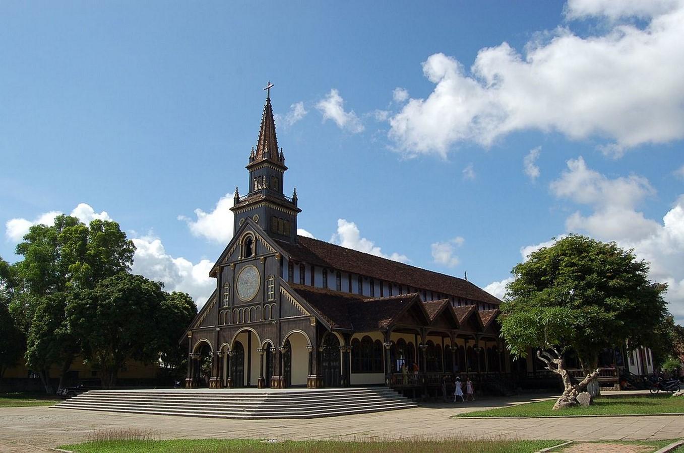WOODEN CHURCH OF KON TUM - Sheet1