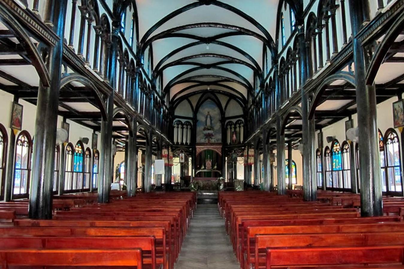 WOODEN CHURCH OF KON TUM - Sheet3