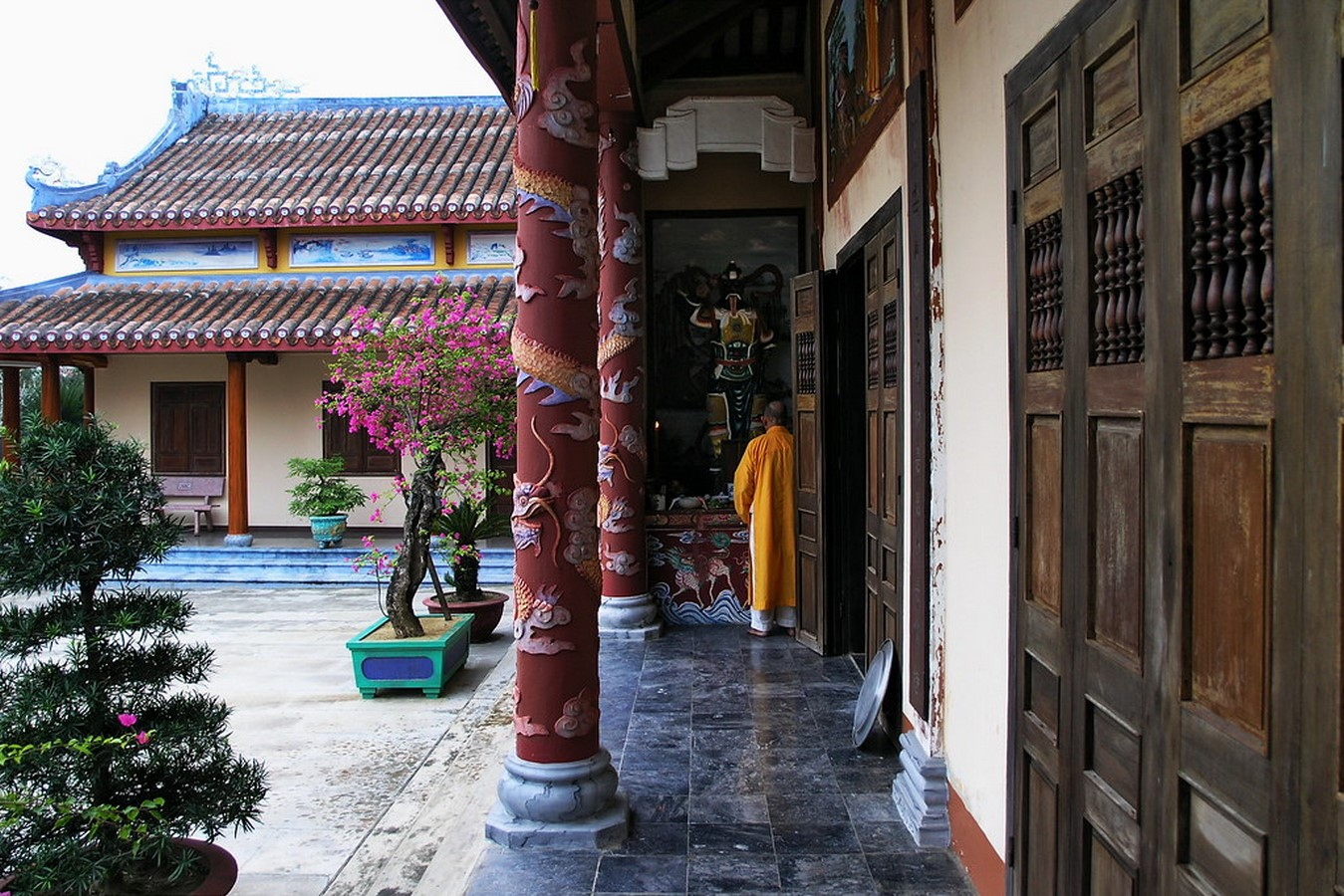 Phuoc Lam Pagoda In Vietnam - Sheet1