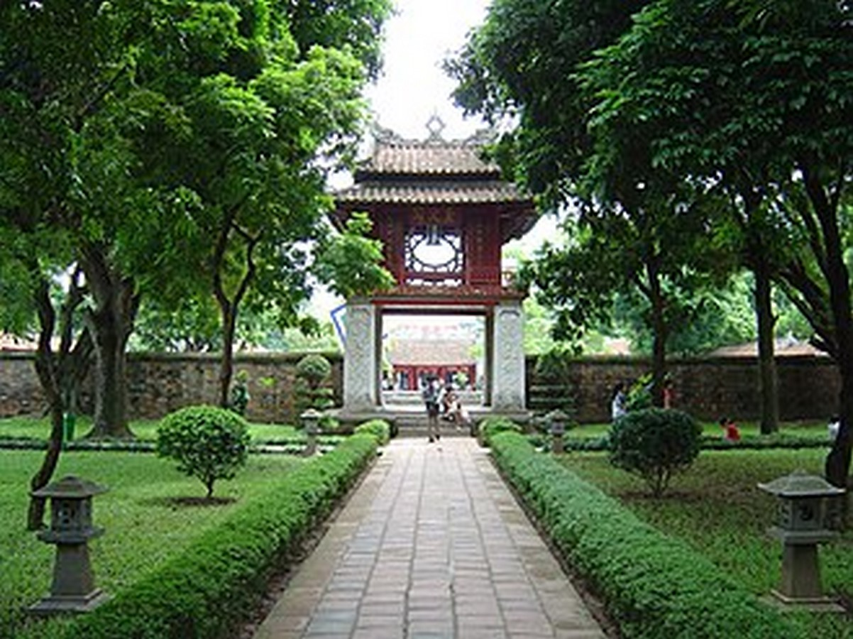 TEMPLE OF LITERATURE, HANOI - Sheet3