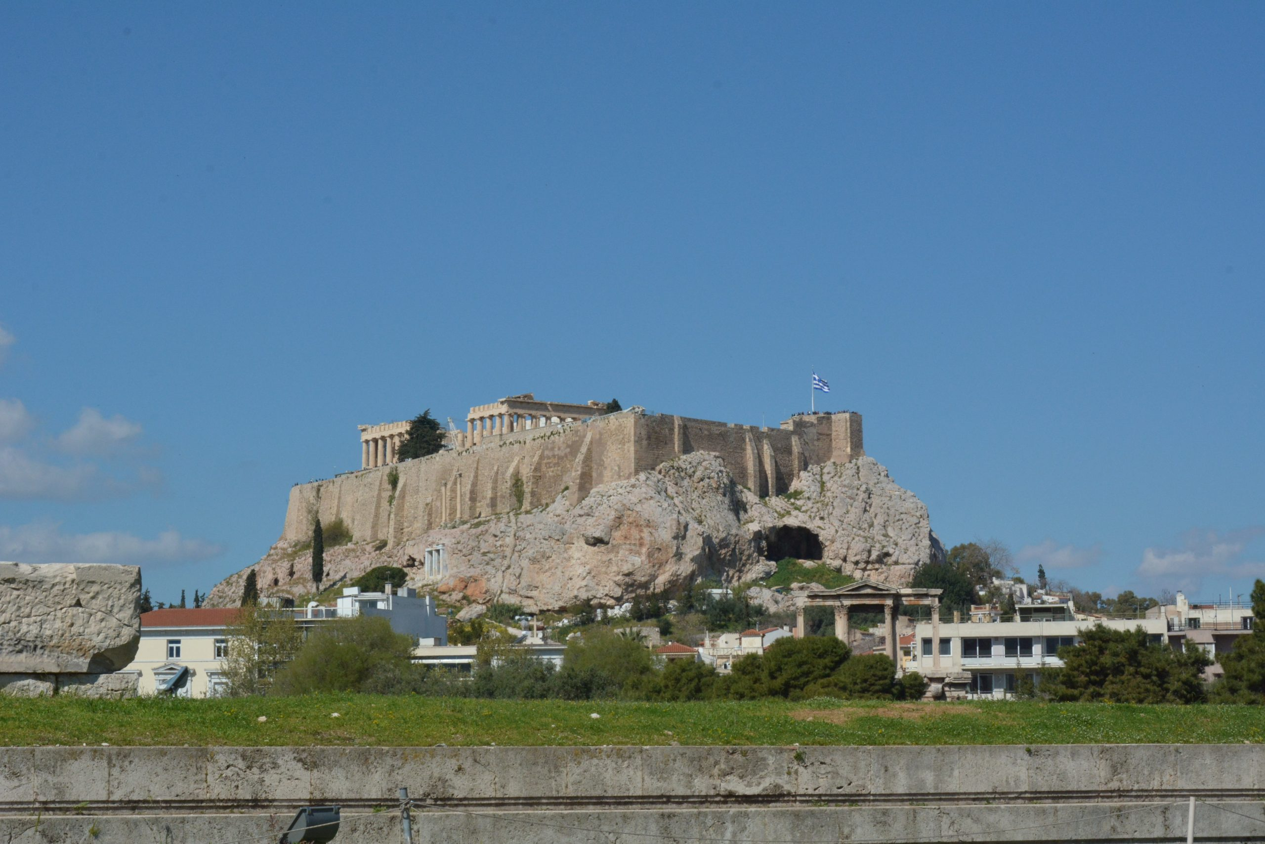 The Acropolis In Athens - Sheet1