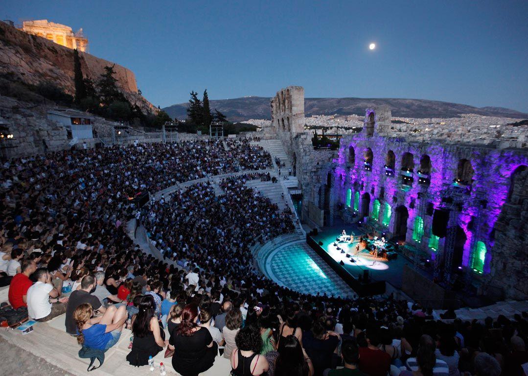 Odeon of Herodes Atticus - Sheet1