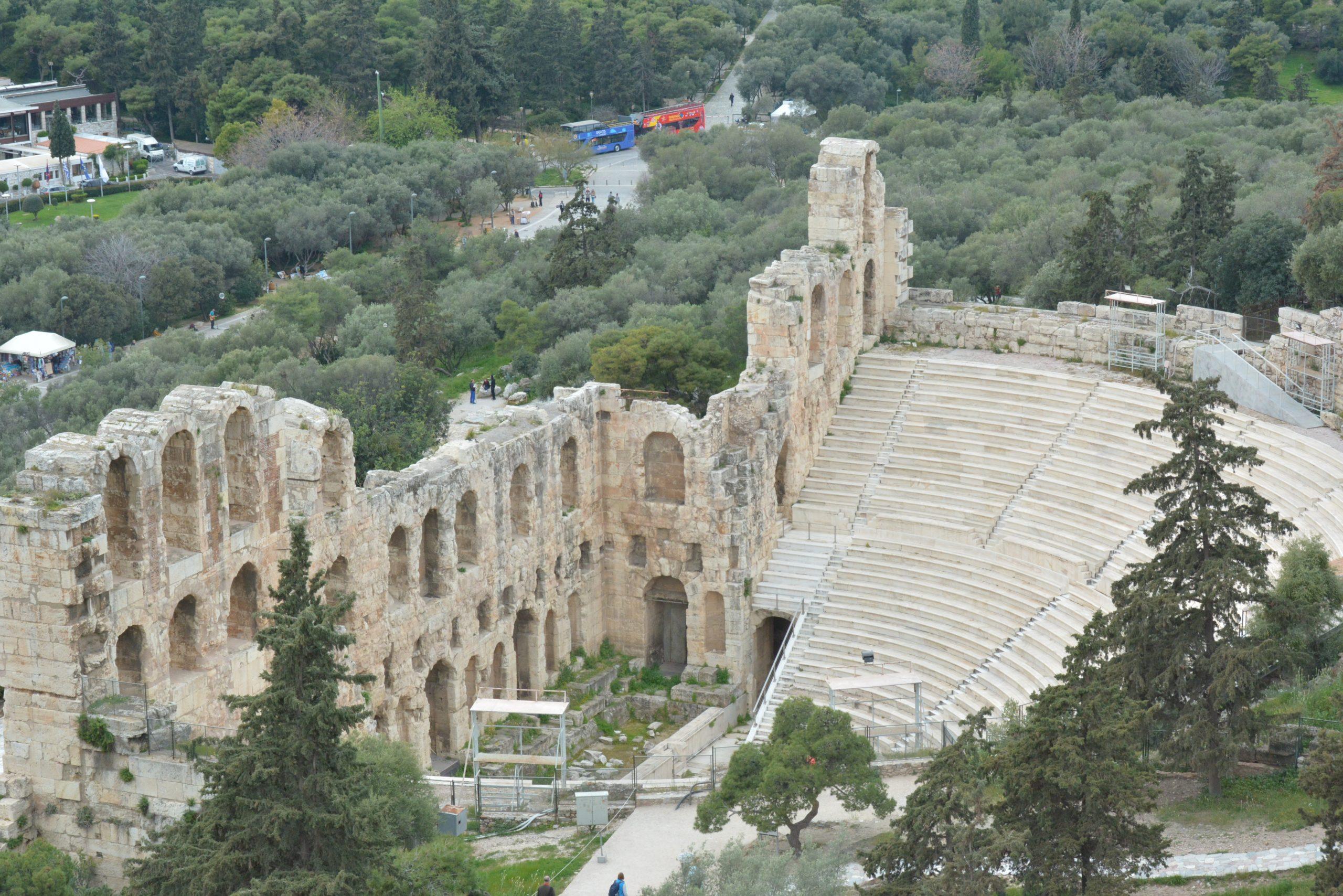 Odeon of Herodes Atticus - Sheet3