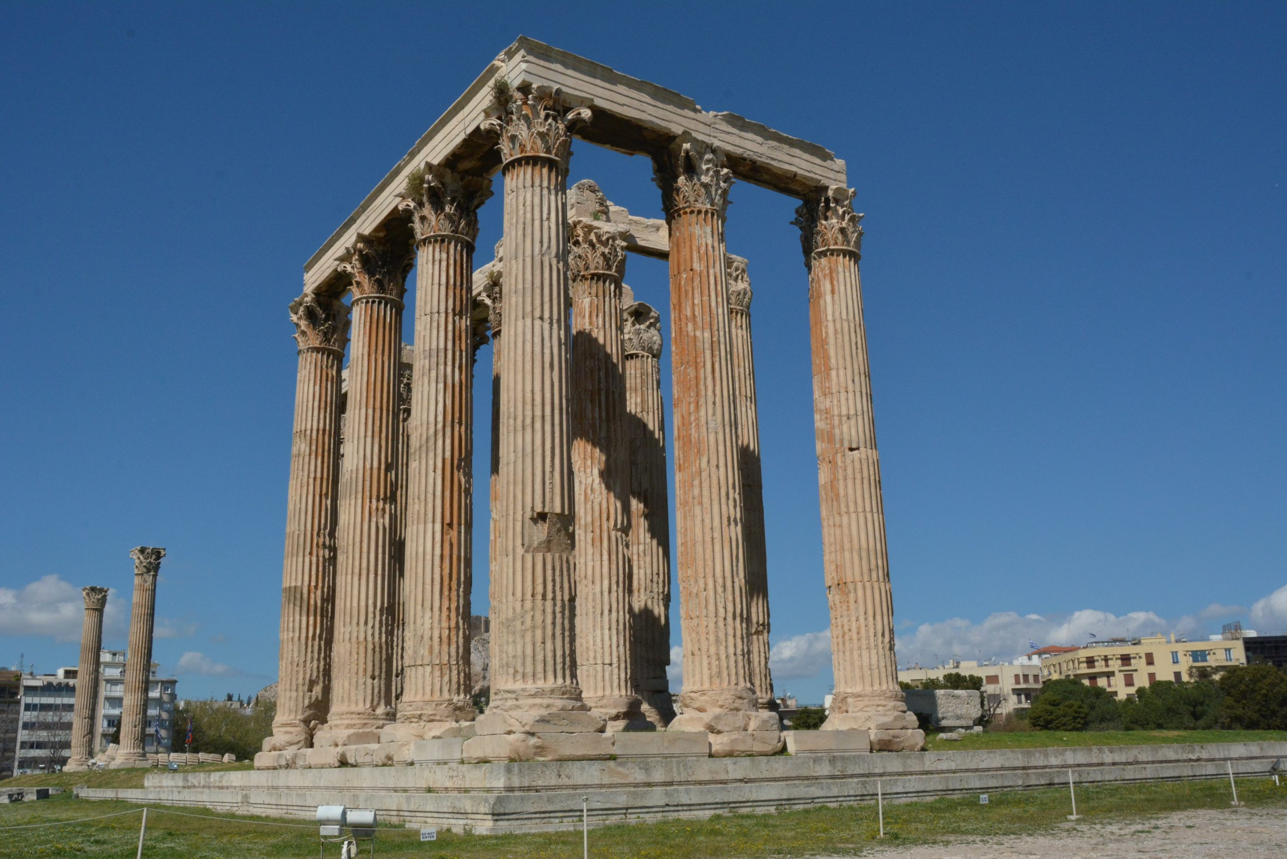 The Temple of the Olympian Zeus - Sheet1