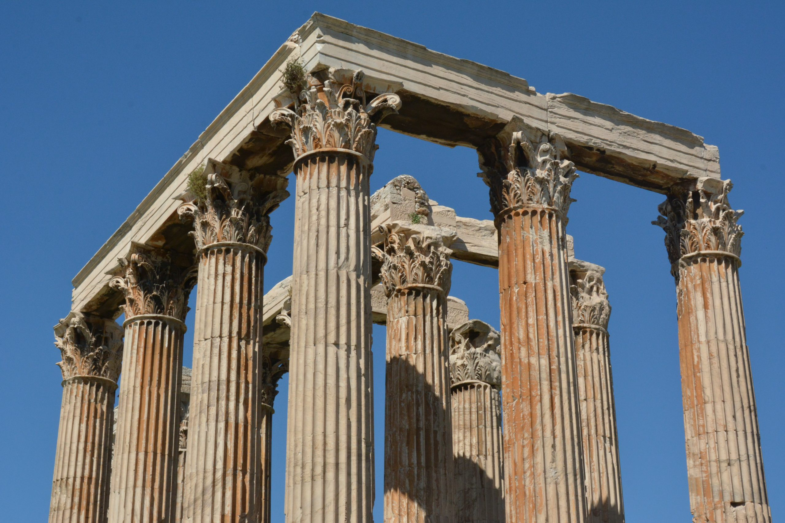 The Temple of the Olympian Zeus - Sheet2